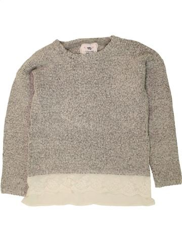 Pull fille PRIMARK gris 10 ans hiver #1454561_1