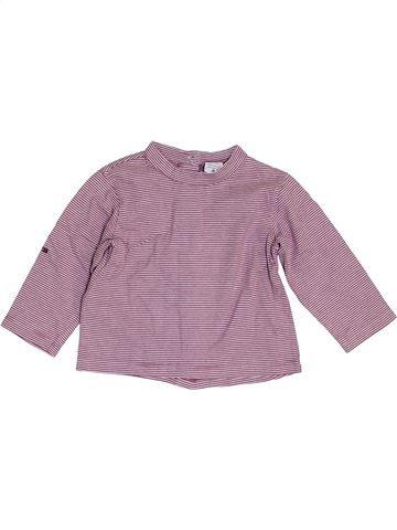 Camiseta de manga larga niño ABSORBA violeta 12 meses invierno #1454617_1