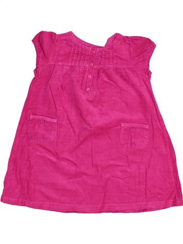 Robe fille BOUT'CHOU rose 2 ans hiver #1454690_1