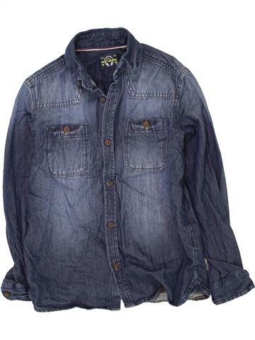 Chemise manches longues garçon NEXT bleu 8 ans hiver #1454761_1