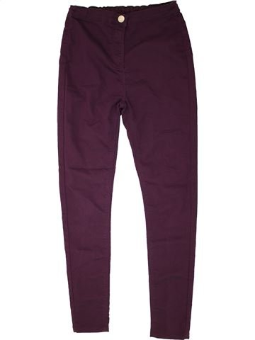 Jean fille CANDY COUTURE violet 14 ans hiver #1454947_1