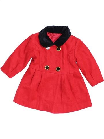 Manteau fille GEORGE rouge 12 mois hiver #1454977_1