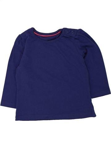 T-shirt manches longues fille MOTHERCARE bleu 6 mois hiver #1455186_1