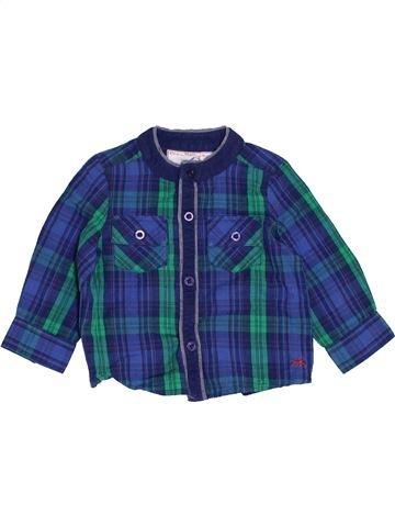Camisa de manga larga niño MONSOON azul 6 meses invierno #1455499_1