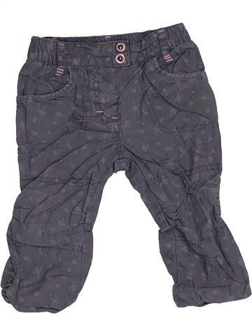 Pantalon fille PRENATAL gris 6 mois hiver #1456128_1
