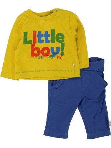 Conjunto niño BLA BLA BLA amarillo 0 meses invierno #1456210_1