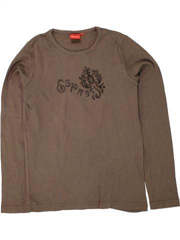 Camiseta de manga larga niña ESPRIT marrón 11 años invierno #1456228_1