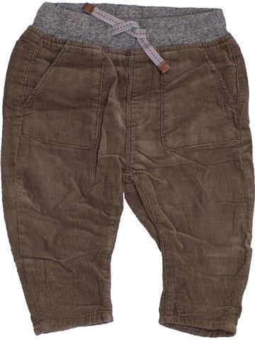 Pantalon garçon ZARA marron 9 mois hiver #1456263_1