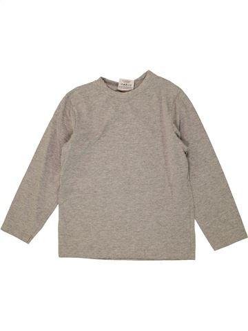 T-shirt manches longues garçon TOPOLINO gris 7 ans hiver #1456355_1