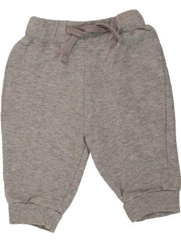 Pantalon garçon IMPIDIMPI gris 6 mois hiver #1456370_1