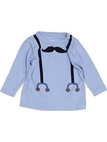 Camiseta de manga larga niño NAME IT azul 6 meses invierno #1456426_1