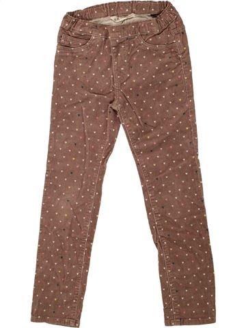 Pantalón niña H&M marrón 7 años invierno #1456548_1