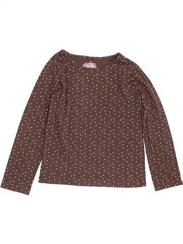 Camiseta de manga larga niña H&M marrón 6 años invierno #1456766_1