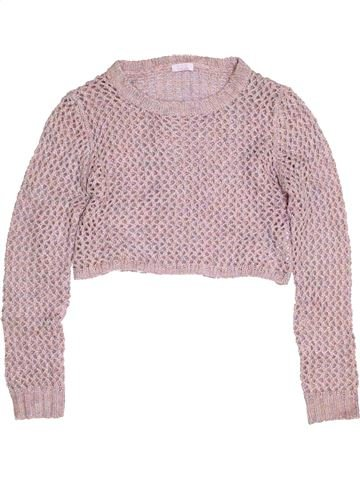 Pull fille KYLIE gris 13 ans hiver #1456876_1
