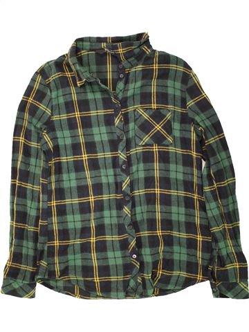 Blusa de manga larga niña NEW LOOK verde 15 años invierno #1457065_1