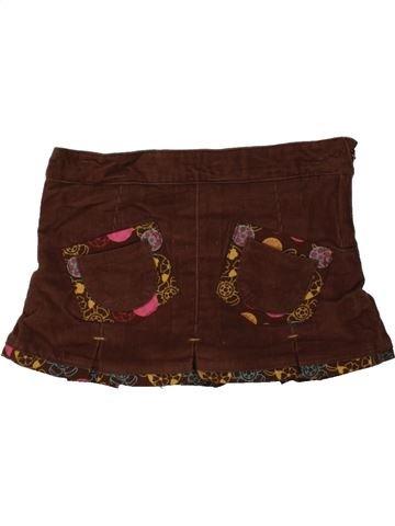 Falda niña ORCHESTRA marrón 2 años invierno #1457232_1