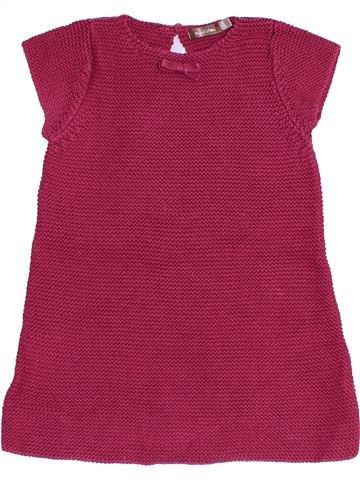 Vestido niña BOUT'CHOU violeta 12 meses invierno #1457313_1