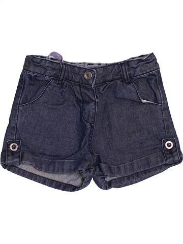 Short-Bermudas niña BOUT'CHOU azul 12 meses verano #1457331_1