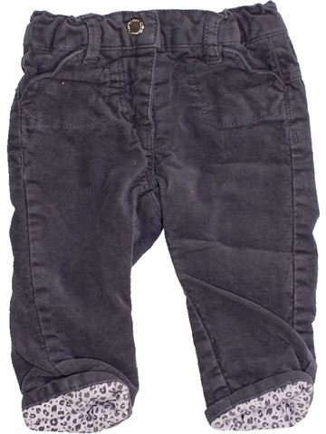 Pantalón niña VERTBAUDET gris 3 meses invierno #1457352_1