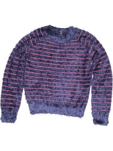 jersey niña KIABI violeta 10 años invierno #1457401_1