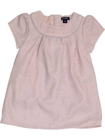 Vestido niña KIABI rosa 6 meses invierno #1457469_1