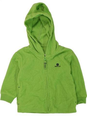 Chaleco niño DOMYOS verde 12 meses invierno #1457541_1