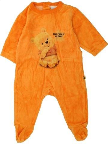 Pijama de 1 pieza niño DISNEY naranja 3 meses invierno #1457556_1