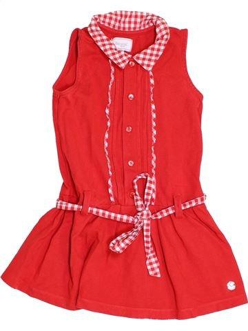 Vestido niña MAYORAL rojo 4 años verano #1457571_1
