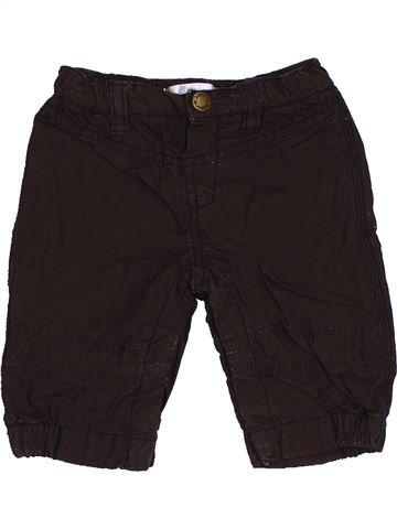 Pantalon garçon KIABI marron 3 mois hiver #1457710_1