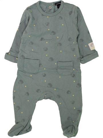 Pijama de 1 pieza niño KIABI gris 3 meses verano #1457893_1