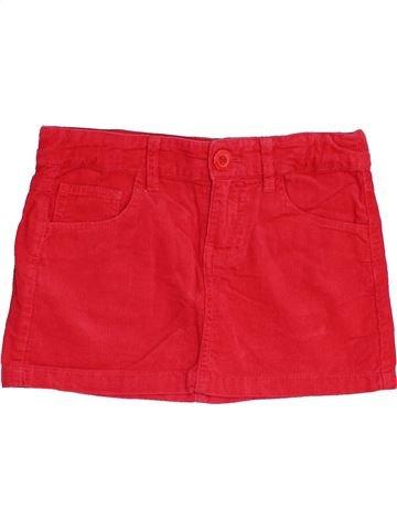 Falda niña BENETTON rojo 8 años invierno #1457898_1