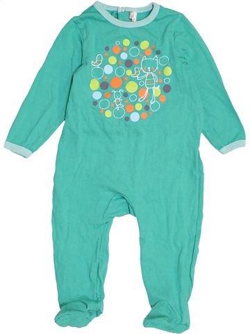 Pijama de 1 pieza niño ORCHESTRA azul 18 meses verano #1458083_1