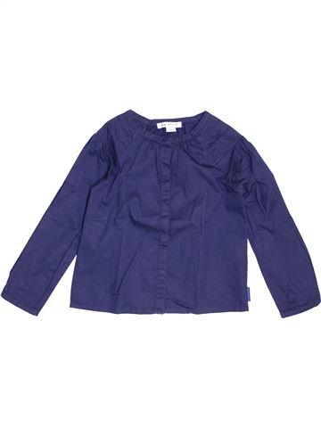 Blusa de manga larga niña NAF NAF azul 5 años invierno #1458110_1