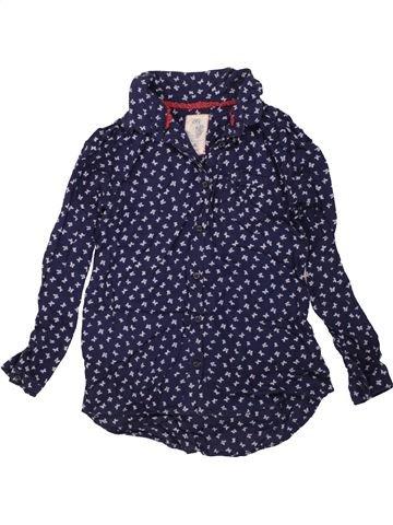 Blusa de manga larga niña C&A azul 9 años invierno #1458307_1
