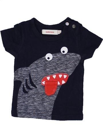 T-shirt manches courtes garçon CATIMINI noir 3 mois été #1458636_1