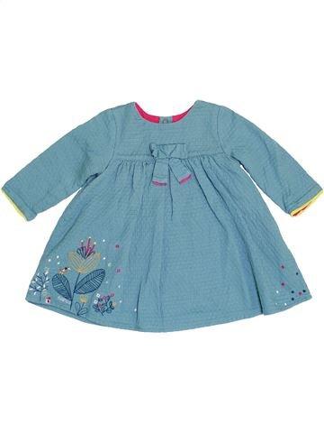 Robe fille CATIMINI bleu 9 mois hiver #1458698_1