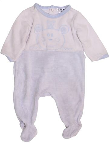 Pijama de 1 pieza niño LA REDOUTE CRÉATION blanco 3 meses invierno #1458796_1