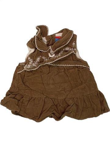 Vestido niña TOPOLINO marrón 3 meses invierno #1458861_1