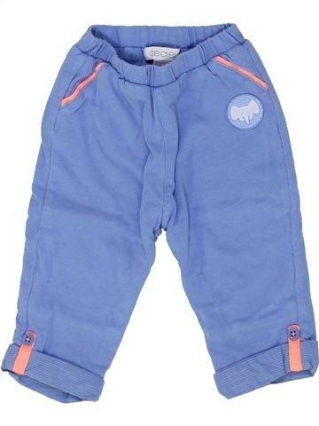 Pantalon garçon OKAIDI bleu 3 mois hiver #1458870_1