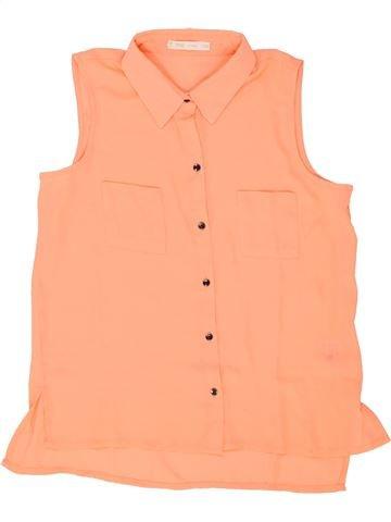 Blusa de manga corta niña GEMO beige 14 años verano #1458913_1