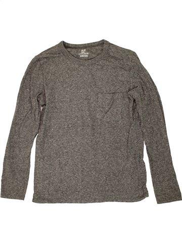 Camiseta de manga larga niño H&M gris 10 años invierno #1459004_1