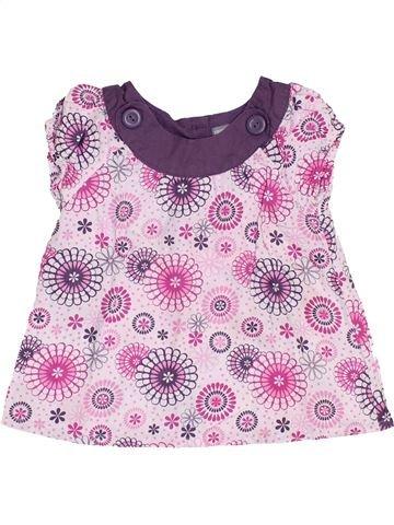 Camiseta de manga corta niña 3 SUISSES rosa 3 años verano #1459064_1