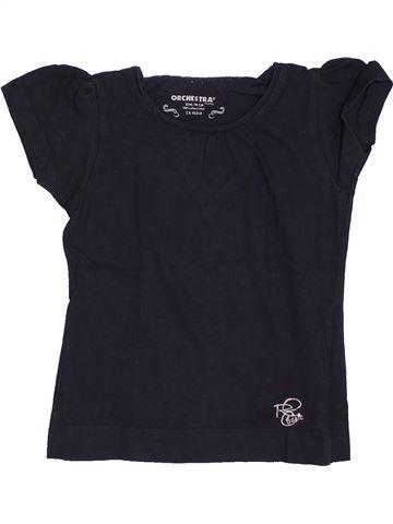 Camiseta de manga corta niña ORCHESTRA azul oscuro 3 años verano #1459105_1