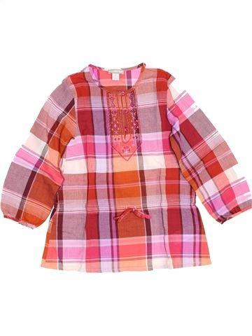 Blusa de manga larga niña ORCHESTRA rosa 5 años invierno #1459115_1