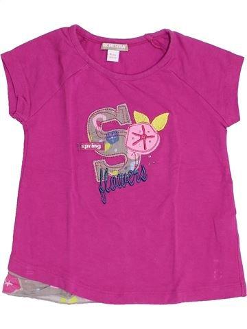 Camiseta de manga corta niña ORCHESTRA violeta 4 años verano #1459134_1
