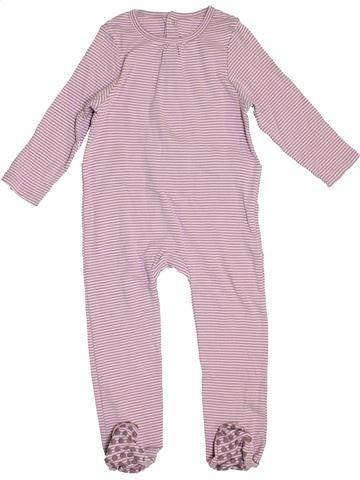 Pijama de 1 pieza niña VERTBAUDET rosa 3 años verano #1459149_1