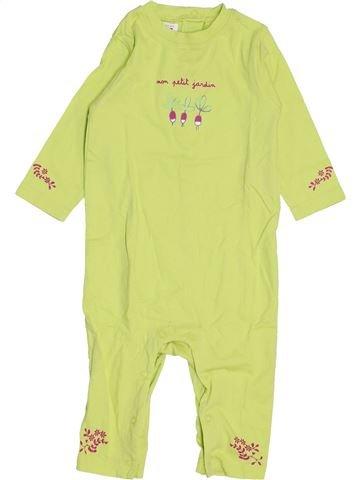 Combinación larga niña LA COMPAGNIE DES PETITS verde 9 meses invierno #1459159_1