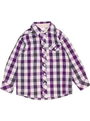Camisa de manga larga niño VERTBAUDET blanco 4 años invierno #1459188_1