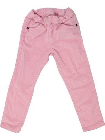 Pantalon fille MOTHERCARE rose 3 ans hiver #1459297_1
