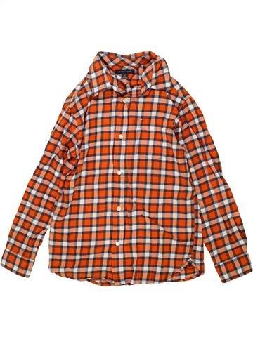 Chemise manches longues garçon TOMMY HILFIGER marron 10 ans hiver #1459300_1